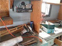 Job lot in garage