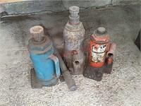 3 bottle jacks