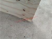48 x 70 3/4 plywood piece