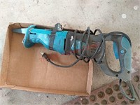 Power glide reciprocating saw