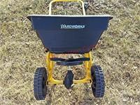 Yard works fertilizer spreader