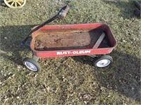 Rustoleum metal wagon