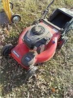 Snapper push mower, runs