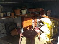 Contents of yard shed