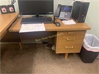 Desk with Extension