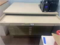Large Flat File Cabinet