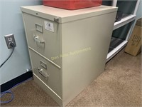 2 Drawer Legal Sized File Cabinet