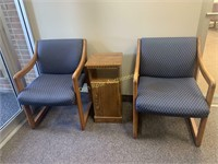 Chairs and Stand