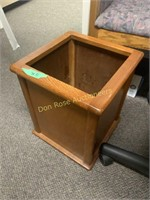 Two Chairs and Waste Basket