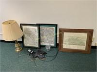 Artwork, Lamp, Polycom