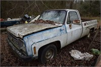 1986 Chevrolet Pickup Salvage (no title, Bill of