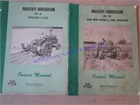 MF MACHINERY MANUALS