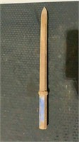 (7) Assorted Jackhammer Bits