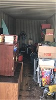 Online Only Storage Container Contents Auction