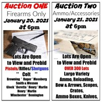 Huge Ammo and Accessories Auction