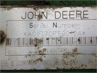 "JOHN DEERE 1770 12 ROW 30"" CONSERVATION PLANTER"