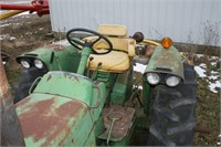 JOHN DEERE 3020 RC GAS TRACTOR -6717HRS