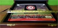 Alabama Football Nick Saban Signed Vault Book
