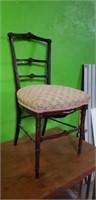 Antique Ladies Accent Parlor Chair