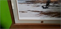 1987 Ducks Unlimited Marsh Signed John Swan