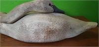 Ducks Unlimited Gordon Alcorn Wood Swan