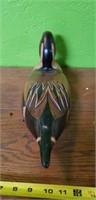 Tom Taber Wood Duck Decoy #2