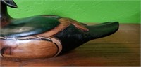 Tom Taber Wooden Duck Decoy #3