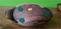 Tom Taber Wooden Duck Decoy #4