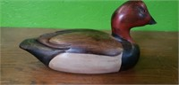 Tom Taber Wooden Duck Decoy #7 As-is