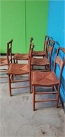 Lot of 6 dining room chairs