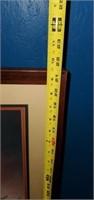 Framed & Matted Print Mauritz de Haas