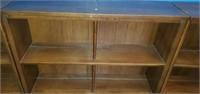 Set of 3 Small Brown Bookshelves