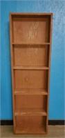 5ft Wooden Bookshelf