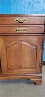 Vintage C.B. Atkins Co Wooden Server