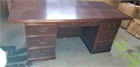 7 drawer executive desk