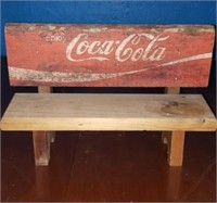 Enjoy coca cola small bench