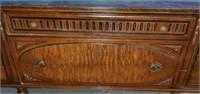 Beautiful Antique Mahogany Wooden Server