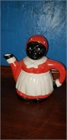 Aunt Jemima sugar, creamer, tea pot