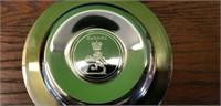 Cunard Queen Elizabeth ll Silverplate Round Plate