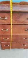 Vintage 4 Door Chest of Drawers