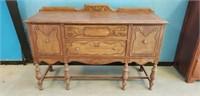 Antique Wooden Server Buffet