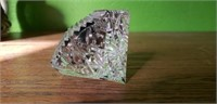 Waterford Crystal Clock Paperweight