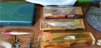 Huge Lot Vintage Fish Lures Spoons & More