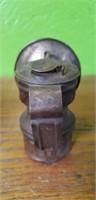 Antique Miners Lantern Lamp Light