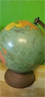 Lot of 2 World Globes on Stands