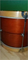 Vinrage Wooden Snare Drum Weather King Covers