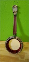 Smal Vintage Metal Dixie Banjo