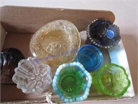 ART GLASS TOOTHPICK HOLDERS