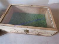 HOMEMADE DISPLAY BOXES