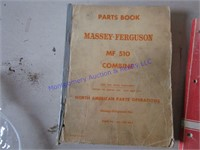 MASSEY FERGUSON COMBINE MANUALS